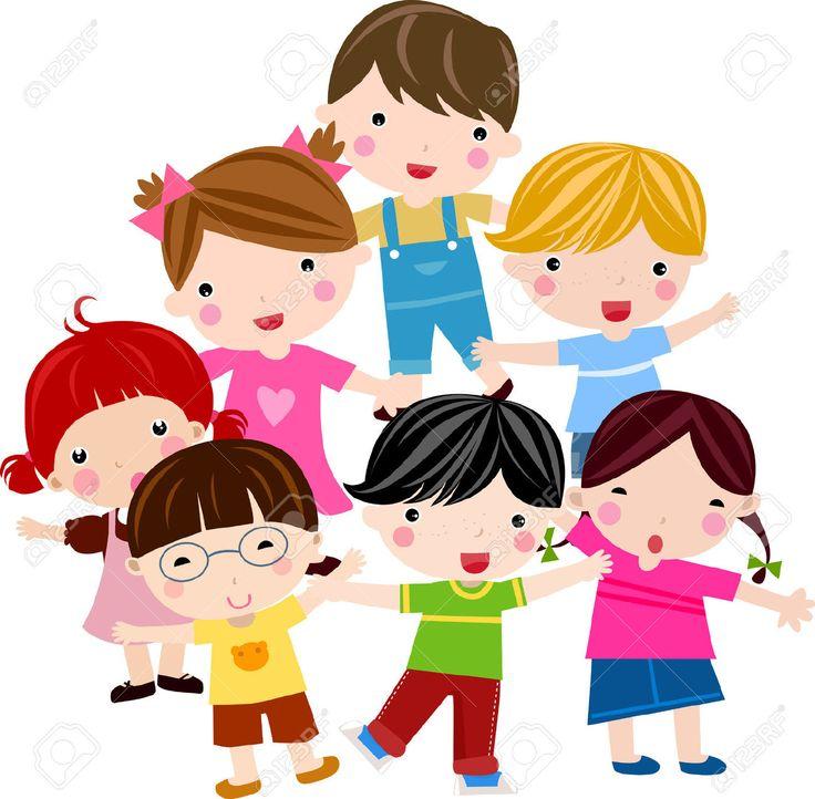 Les 23 meilleures images du tableau picto sur pinterest clip art encadrement et enfants qui - Dessin groupe d enfants ...