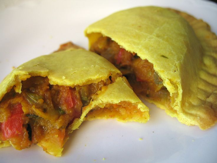 Vegetarian Jamaican Patties | Not Eating Out in New York