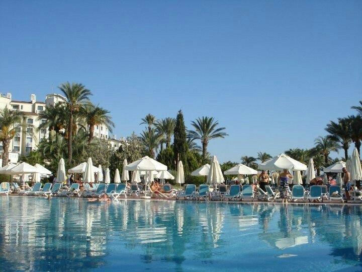 The Perissia swimming pool - gorgeous!