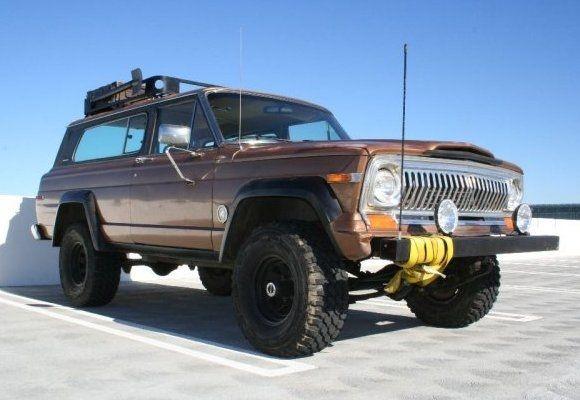 Old jeep wrangler 1980