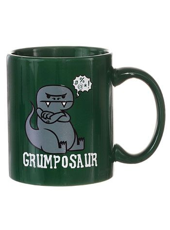Grumposaur Dino Coffee Mug At PLASTICLAND