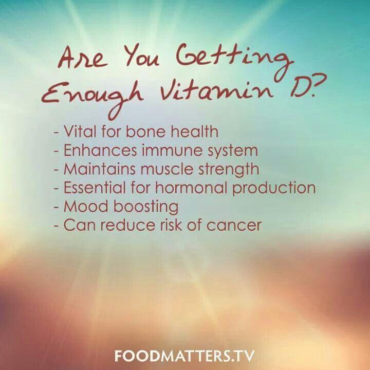 Vitamin D... So important