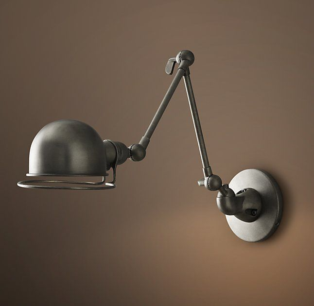 Atelier Swing Arm Wall Sconce From Restoration Hardware