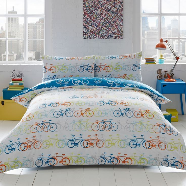 Best 25 multicoloured bedding sets ideas on pinterest from our exclusive principles range by ben de lisi the racing bikes bedding set will gumiabroncs Images