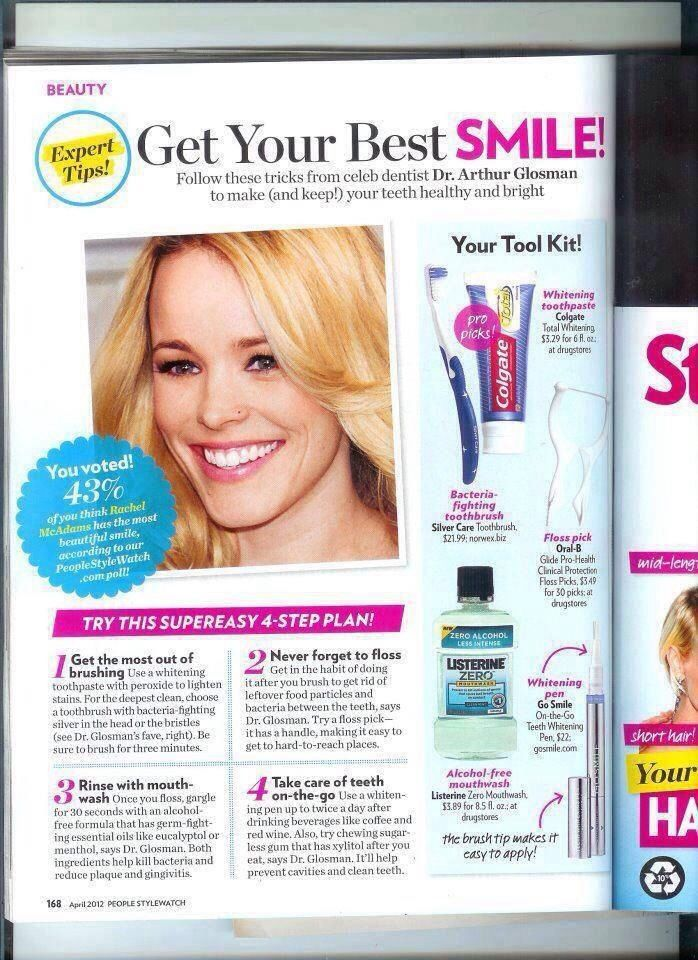 The Norwex Adult Silver Care Toothbrush was featured in People Magazine! Check out the Norwex catalog or learn more about this fast growing business! www.brandioliver.norwex.biz