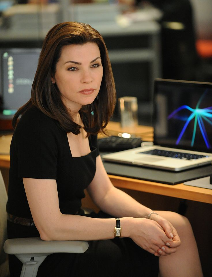 The Good Wife : Always calm, composed and collected... and best wardrobe ever!