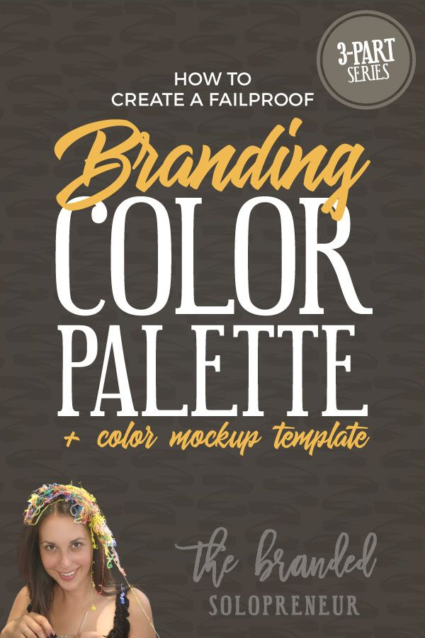 In this 3-part series you're going to learn everything you need to know to create a color palette that will NEVER fail you or your brand . PLUS, a color palette mockup template you can use to try out your palette before you commit to it.  Branding design | Branding board | Branding identity | Branding inspiration | Branding ideas | Branding ideas for small business | Branding ideas marketing | Brand board ideas | Brand board inspiration