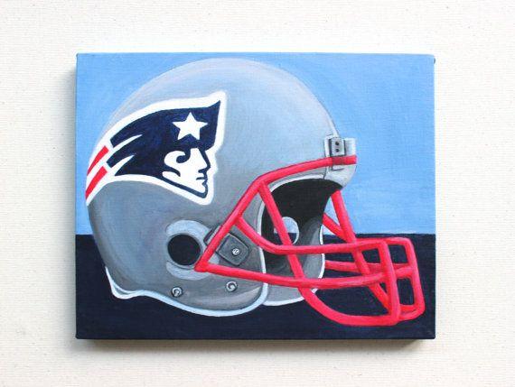 Patriots helmet painting from etsy: https://www.etsy.com/listing/197700103/new-england-patriots-helmet-acrylic?ref=listing-shop-header-2