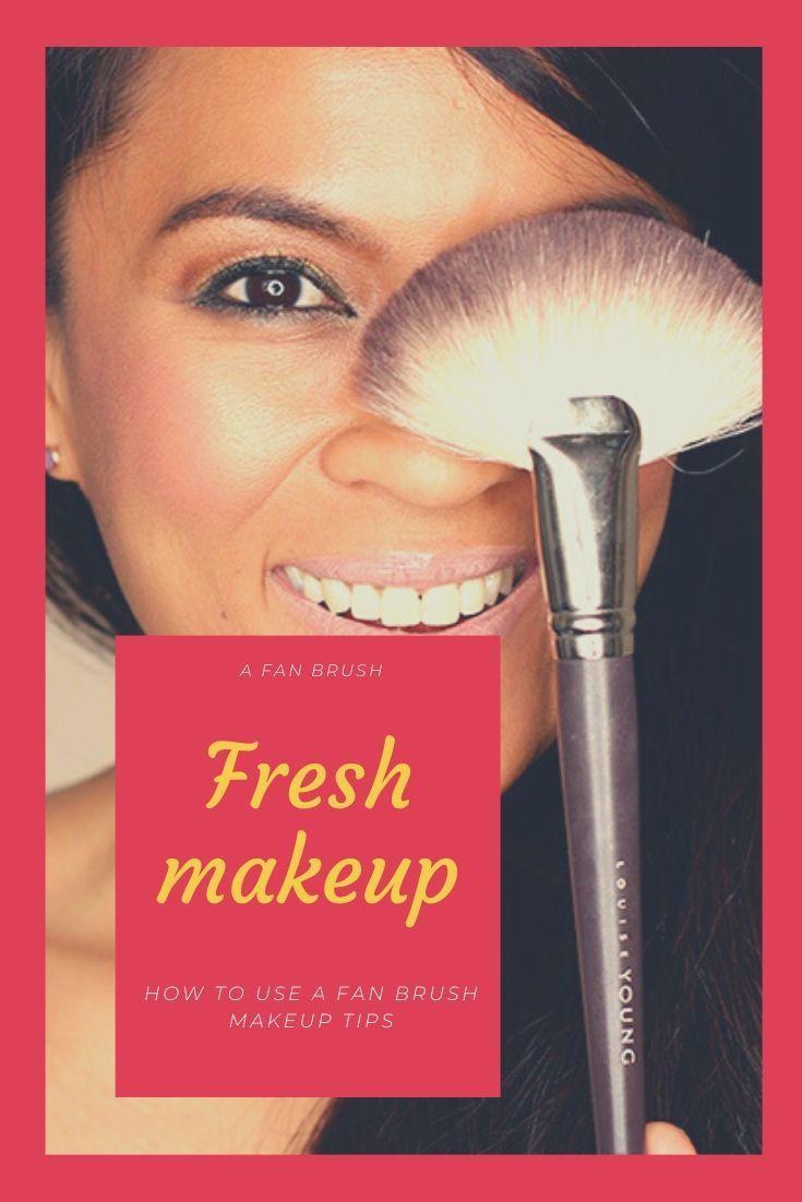 How To Use A Fan Brush Makeup Tips Fan Brush Makeup Famous Makeup Artists Makeup Brush Uses