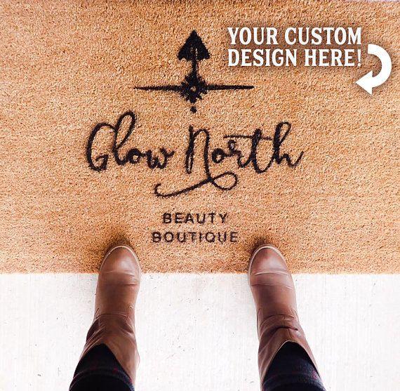 Custom Outdoor Doormat Family Established Custom Coir