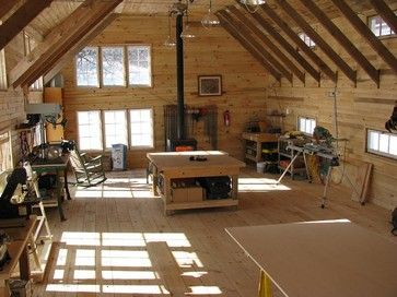 Chittenden County Design Build And Remodeling Rustic Garage And Shed Burlington L