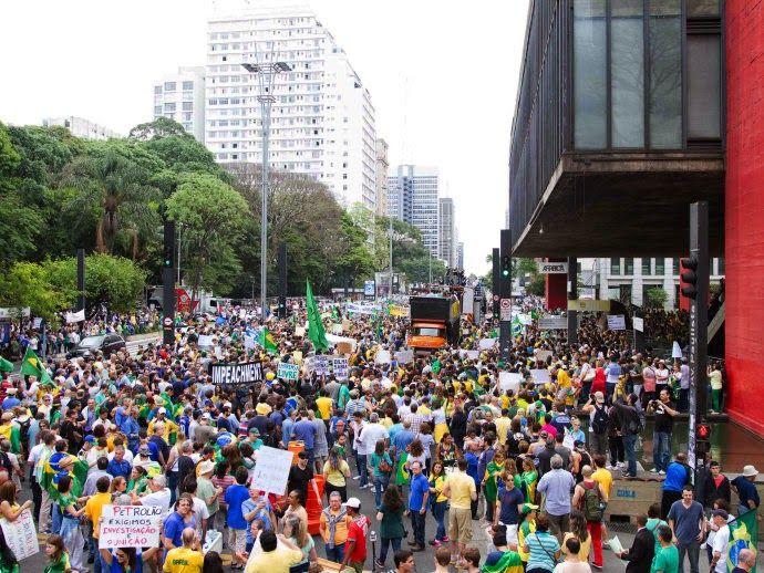 O que você fazia quando...: o povo se preparava para as manifestações?