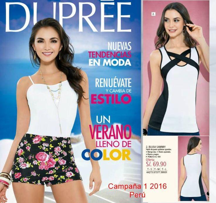 Catalogo Dupree Perú campaña 1 2016