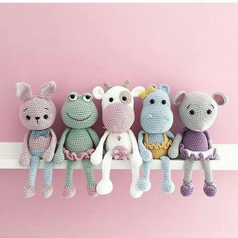 Sweet crochet amigurumis