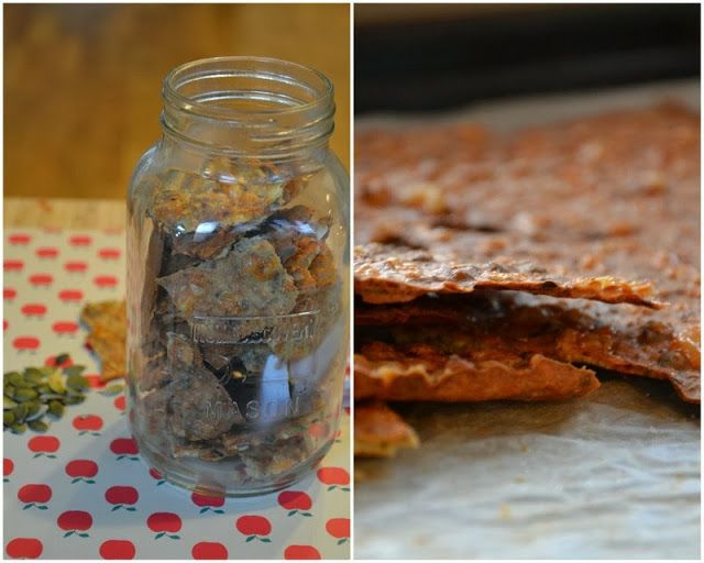 Brændstof: HELSEKOST: Hjemmebagte quinoaknækbrød med chiafrø, kerner & cheddar (stærkt vanedannende)