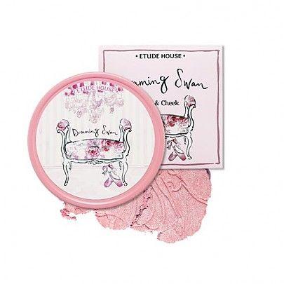[Etude house] Dreaming Swan Eye and Cheek #01 jete pink