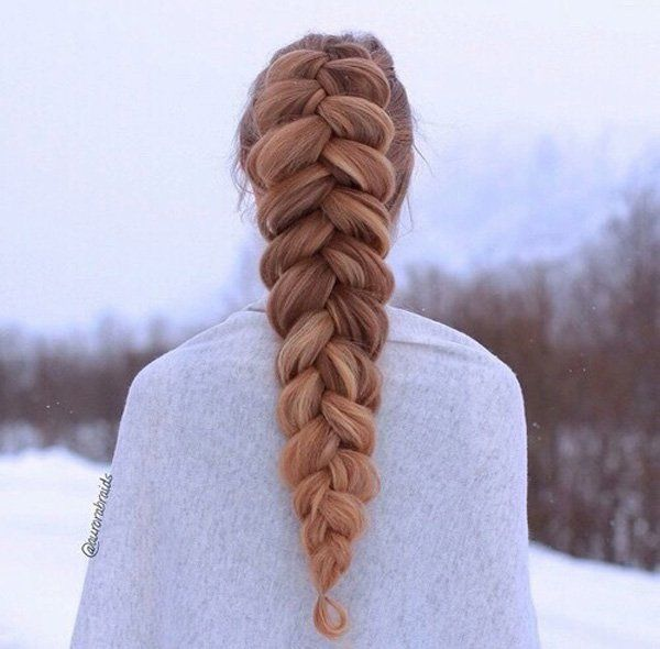 singapore shopping online If you loved that two dutch braid with loose loops  that looks like a pancake   here  s a variation with just one full dutch braid  You can make bigger loops with this one  and it would look like really good pancakes
