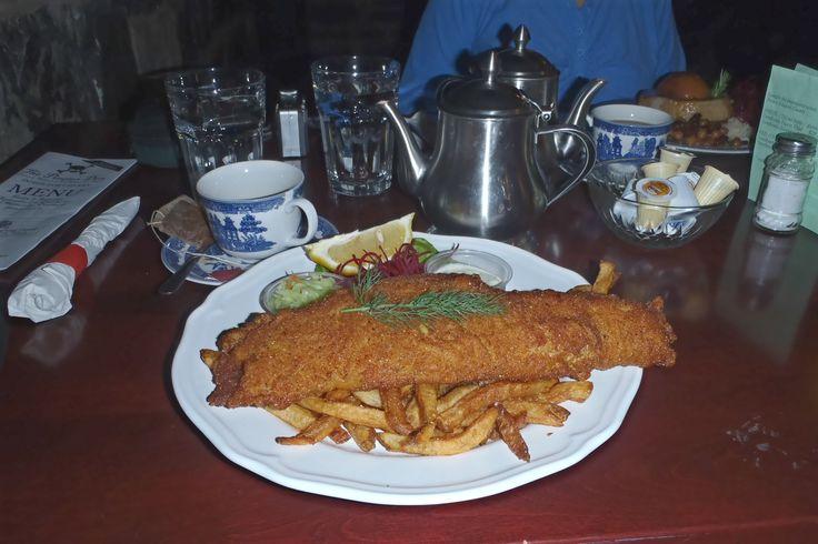 Finalist #5: my friend @Melinda Lee (Melinda Lee)  - Fish & Chips from The Pirate Den in Kingston, ON