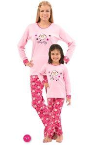 Roly Poly 2564 Kız Çocuk Pijama Takımı
