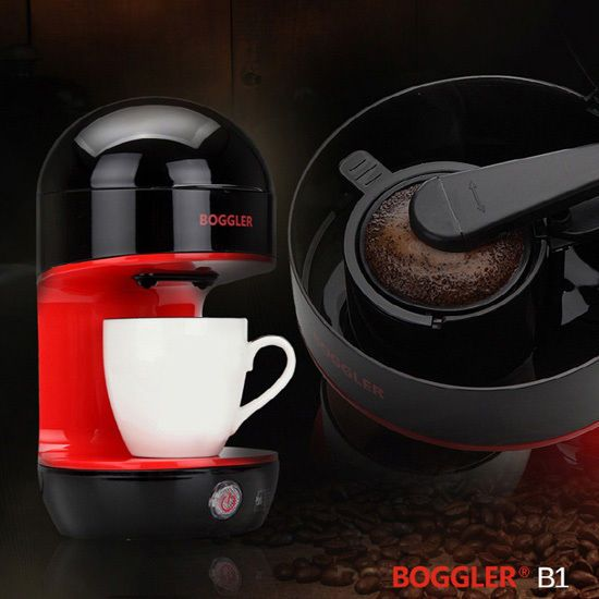 BOGGLER Mini Coffee Maker Espresso Automatic Machine B1 Hand Drip Method 680G    #BOGGLER