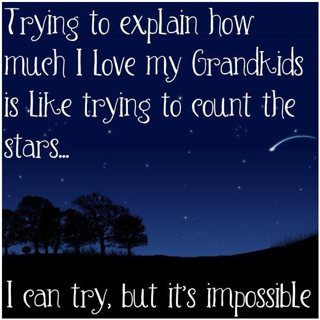 Well put and heartfelt.: Grandbabi, Grandma Quotes, Stars, Grandkids, Grand Kids, True, Grandchildren, Families, Grandparents