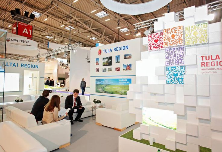 Stand Tula Region on Exporeal 2013 Munich #exhibitions #europeanexhibitions #buildup #gc_granat #design #exhibitionstand #exhibitionbooth