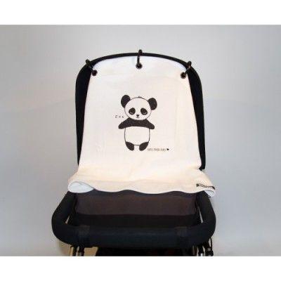 Kurtis Baby Peace - Panda Black & White