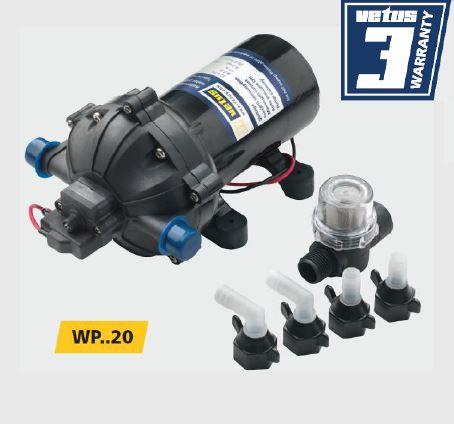 Pompa do ciśnieniowych systemów wodnych Vetus 20 l/min