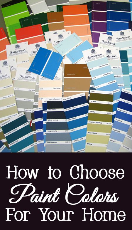 How To Choose Paint Colors For Your Home House Paint Ideas And Interior Design Inspiration