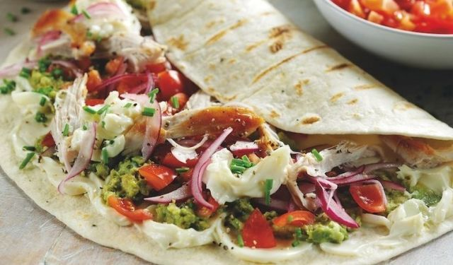 ... turkey quesadillas | Recipe | Smashed Avocado, Quesadillas and Turkey