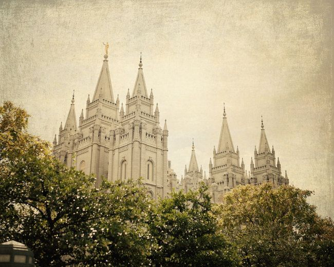 Popular items for salt lake temple on Etsy