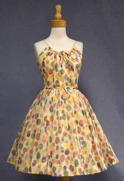 Vintageous, LLC - Pretty Polka Dotted Party Dress, $179.00 (http://www.vintageous.com/pretty-polka-dotted-party-dress/)