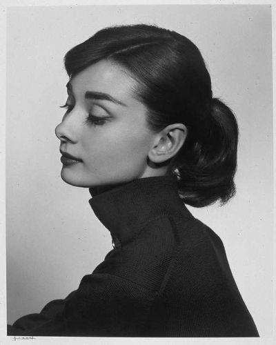Yousuf Karsh - Audrey Hepburn