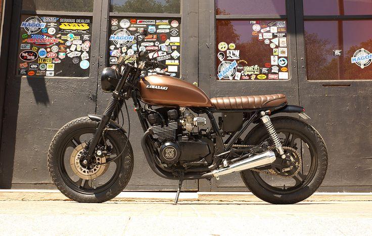 Kawasaki gpz400 by freekustomcycles