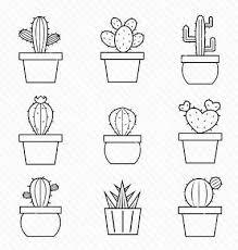 Resultado de imagen de dibujos de cactus tumblr para