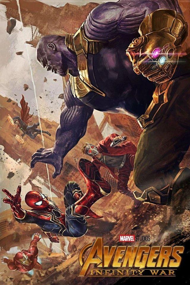 Epic Avengers Infinity War Fan Art By Eni3 Marvelstudios Avengers Vs Thanos Avengers Avengers Cartoon