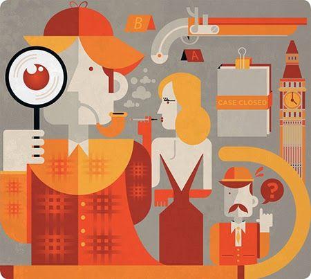 Área Visual - Blog de Arte y Diseño: Las ilustraciones vectoriales de Francesco Poroli