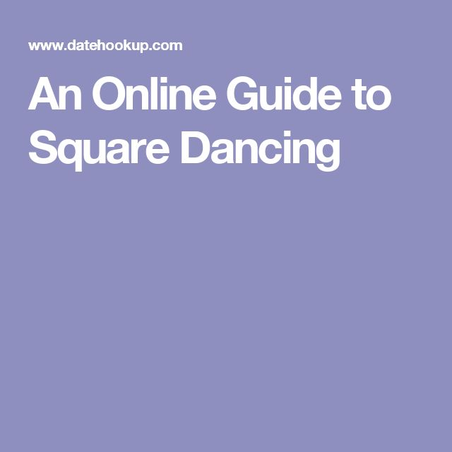 An Online Guide to Square Dancing
