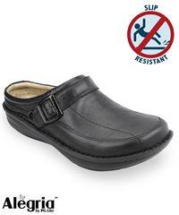 Alegria Men's Chairman Black Nappa Leather Shoe