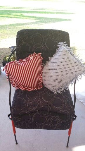A couple more cushions. .
