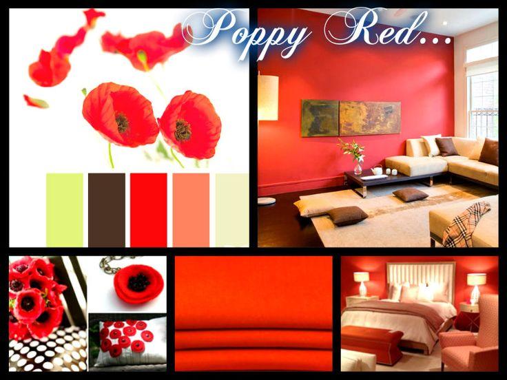 Poppy Red...
