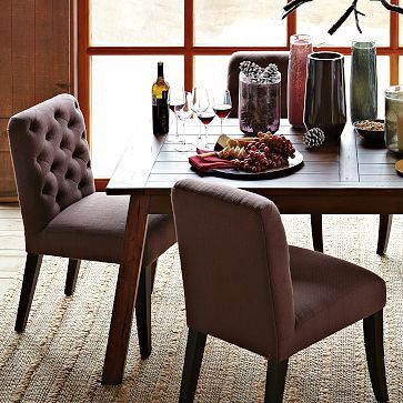 Elton Dining Chair   Raisin From West Elm