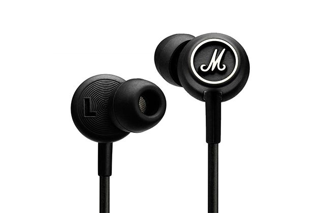 The Marshall Mode is our in-ear headphone pick around $100: great sound and fit plus a remote and mic make it a big upgrade from a phone's stock earbuds.
