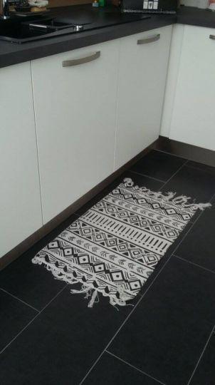 merci TATTI pour ce tapis : également promo de la semaine,  -  - un tapis au pied de l'evier c'est vraiment trop pratique! et celui la j'adore!
