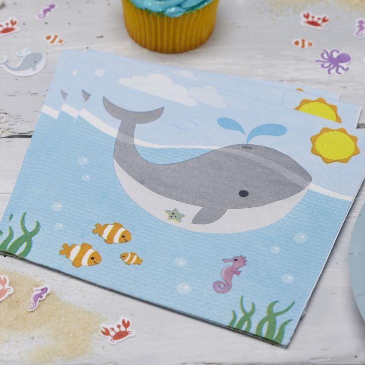 Under The Sea - Paper Napkins