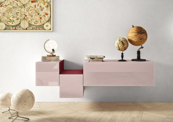 36e8 Side_storage by LAGO | Wall shelves