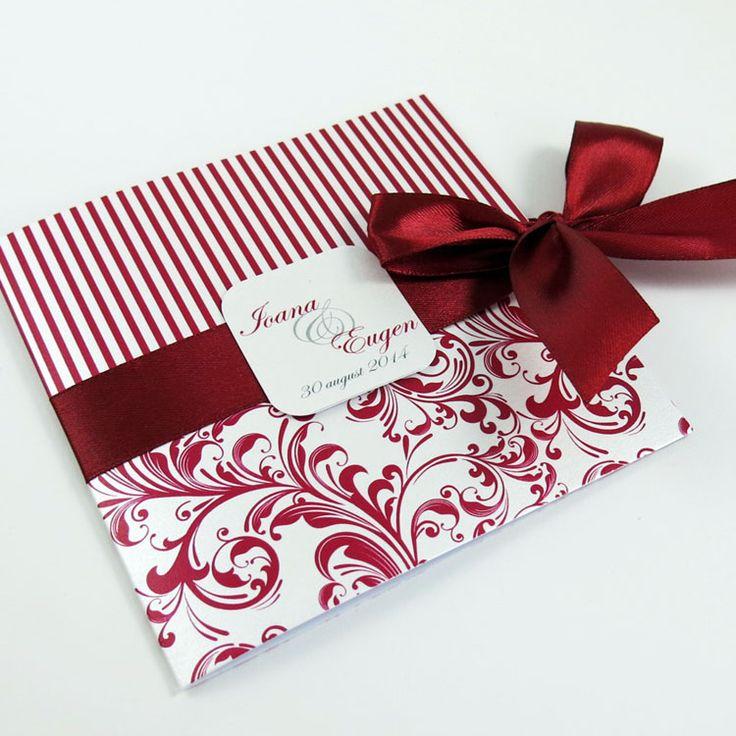 Invitaţie de nuntă Bastien http://designbyclarice.ro/