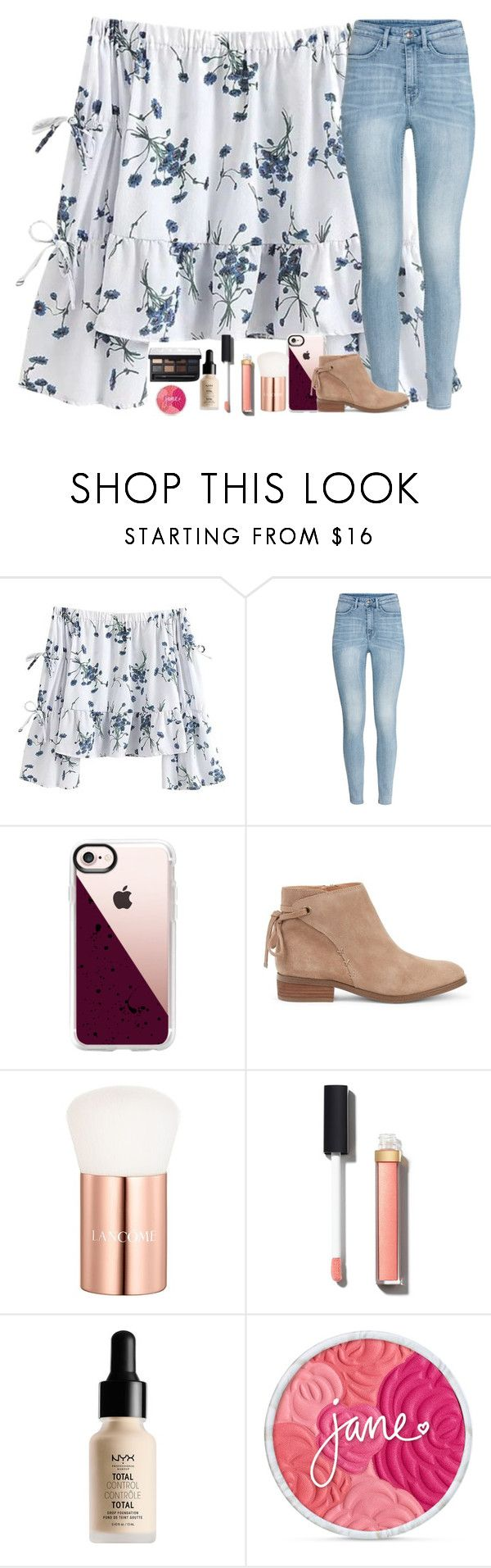 """""""kindness is better"""" by classyandsassyabby ❤ liked on Polyvore featuring H&M, Casetify, Sole Society, Lancôme, Chanel and NYX"""