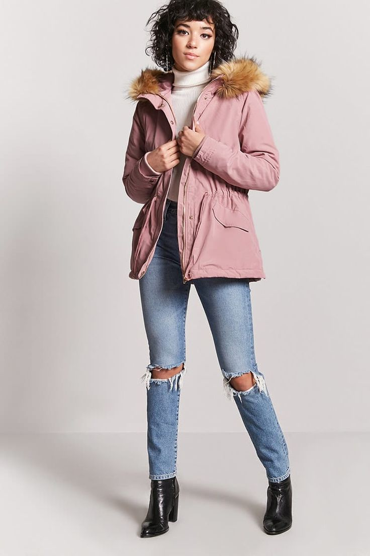 Product Name:Faux Fur Parka Jacket, Category:outerwear_coats-and-jackets, Price:44.9