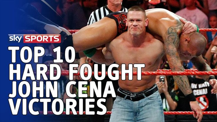 John Cena's Hardest-fought Victories - WWE Top 10 https://www.youtube.com/watch?v=q5Xmo89DBlY